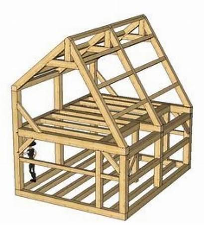 Saltbox Shed Roof Google Frame Timber Plans