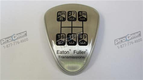 5586112 Eaton Fuller Shift Knob Medallion For Rto-6613