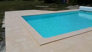 plage piscine pierre naturelle une plage en pierre With dalle pour plage piscine