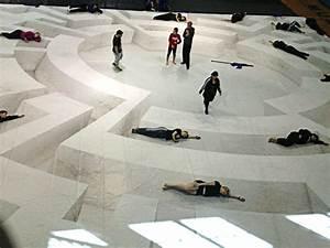 Custom floor tarp for winter guard indoor percussion and for Winterguard floors