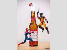 Superhero Action Figures Doing Superhero Stuff