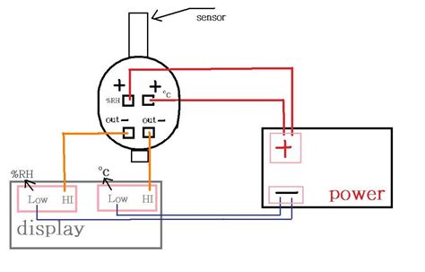 O2 Sensor Wiring Diagram Siemen by Temperature Humidity Transmitter Transducers Sensor 4