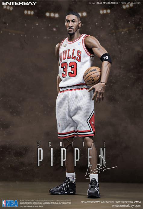 enterbay nba collection scottie pippen chicago bulls