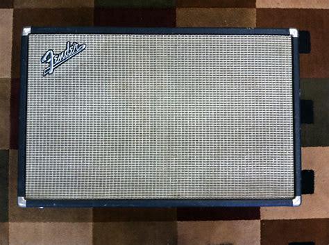Fender 2x10 Guitar Cabinet by Vintage Fender Tremolux 2x10 Guitar Cabinet W Original