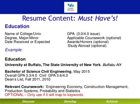 should i put major on resume writing your technical resume