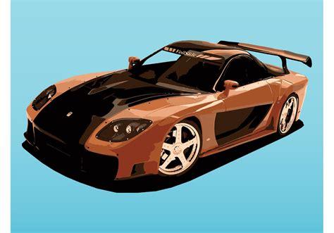 Mazda Sports Car  Download Free Vector Art, Stock