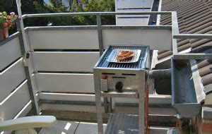 grillen auf dem balkon was ist erlaubt gasgrill wissen tipps rezepte