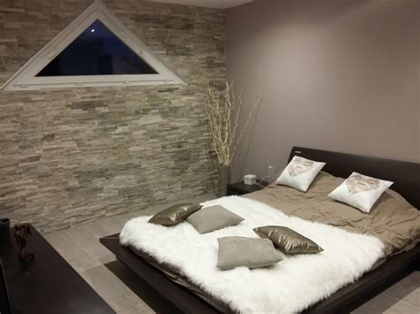 chambre a coucher idee deco des pierres dans la chambre à coucher voici 20 idées déco