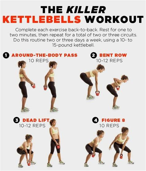 kettlebell swing workout 8 kettlebell workouts to tone muscles and burn