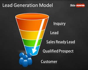 Lead Funnel Template by Free Funnel Powerpoint Templates