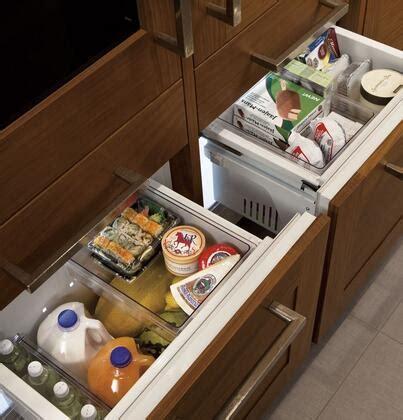 ge monogram zikgnhii   panel ready counter depth bottom freezer refrigerator