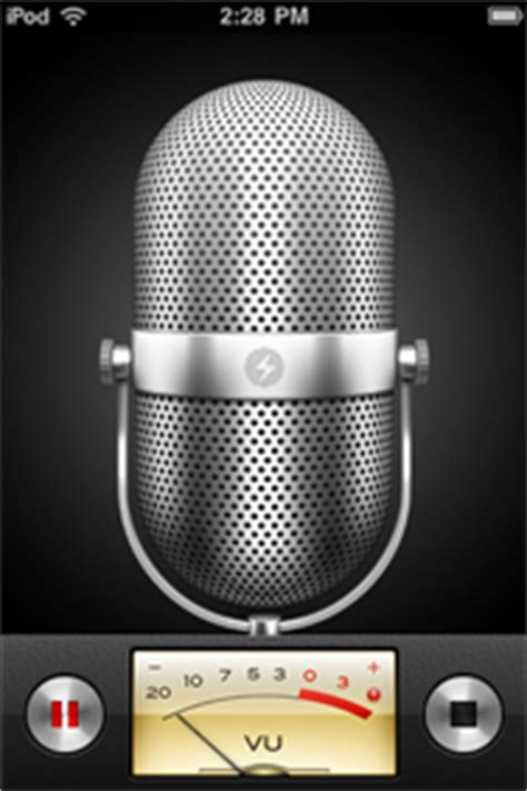 voice recorder iphone record voice memos on the ipod iphone macworld