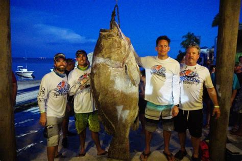 grouper warsaw firefighter fishing tournament abcactionnews local