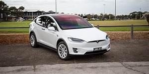 Tesla Modele X : 2017 tesla model x 75d review caradvice ~ Melissatoandfro.com Idées de Décoration