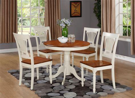 wood kitchen table 5 pc dinette kitchen table w 4 plainville wood seat
