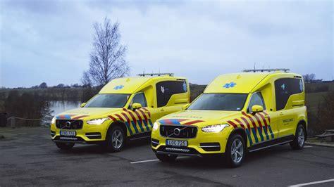 Eerste Ambulanceversies Volvo Xc90 Gearriveerd In Nederland