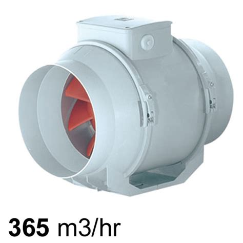 vortice lineo mixed flow inline fan mm pure ventilation