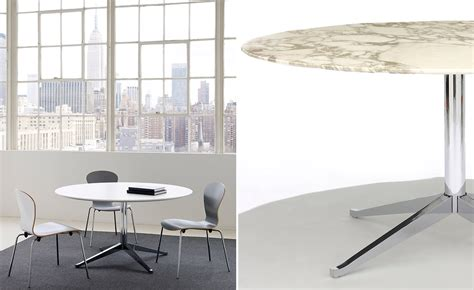 table florence knoll florence knoll 78 quot oval table hivemodern