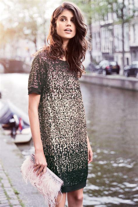 ombre sequin dress  shop ezibuy