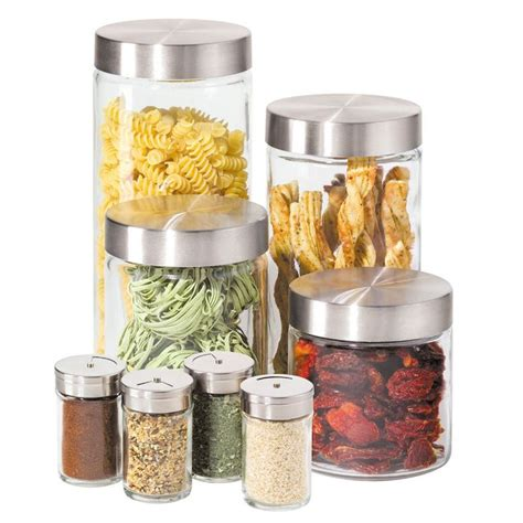 Oggi Kitchen Canisters by 25 Best Glass Canisters Ideas On Bulk Food