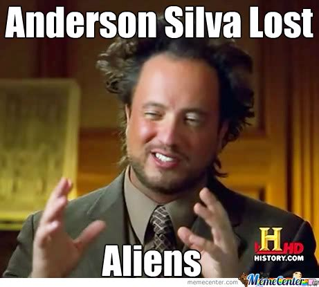 Anderson Meme - gallery for gt anderson silva meme
