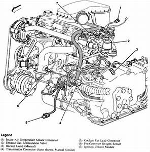 Wiring Diagram Database  2000 Chevy S10 22 Engine Diagram