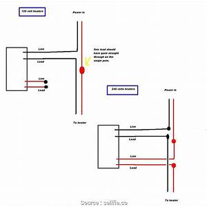 Single Pole Thermostat Wiring Diagram