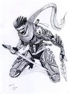 Ronin Armor Drawing