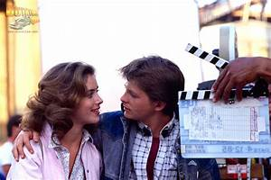 24 Incredible Backstage Pics From The Back To The Future Films