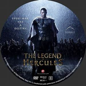 The Legend Of Hercules - Custom DVD Labels - The Legend of ...