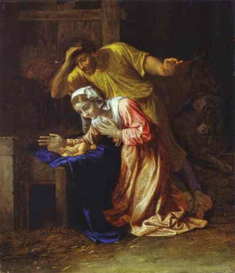 Merry Christmas  Nicolas Poussin, Famous Nativity Paintings