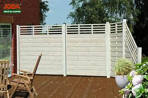 Sichtschutz Holz Balkon : sichtschutz holz weiss lasiert ~ Orissabook.com Haus und Dekorationen