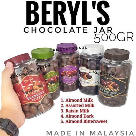 beryls chocolate jar gr shopee indonesia