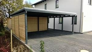 Carport Verkleidung Kunststoff : doppelcarport mit sichtschutz ~ Frokenaadalensverden.com Haus und Dekorationen