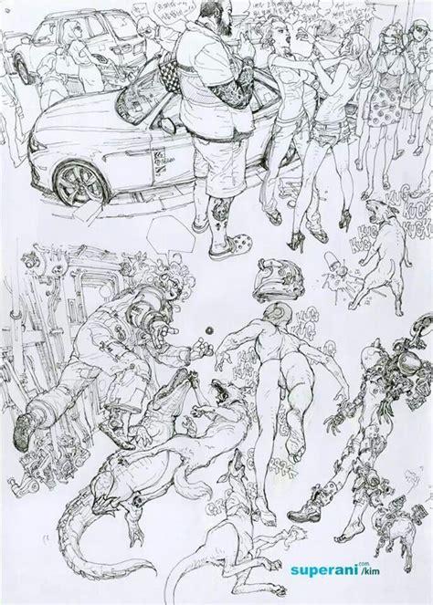 images  kim jung gi  pinterest drawing
