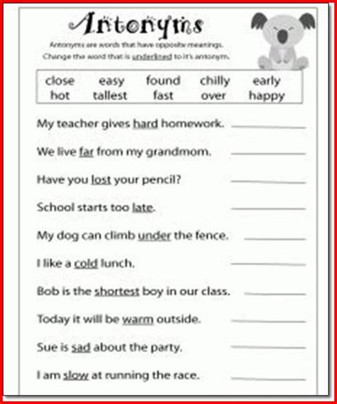 3rd grade language arts worksheets photos getadating
