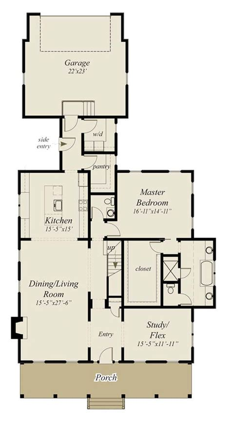 Southern Floor Plans by Southern Living House Plans Floor Master