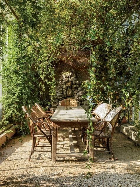 Outdoor Patio Garden by Patio Pergola Vines Outdoor Furniture Axel Vervoordt