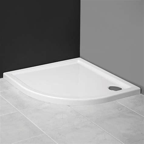 Was Ist Eine Duschtasse by Aquabad Duschwanne Duschtasse Flach Viertelkreis 80x80