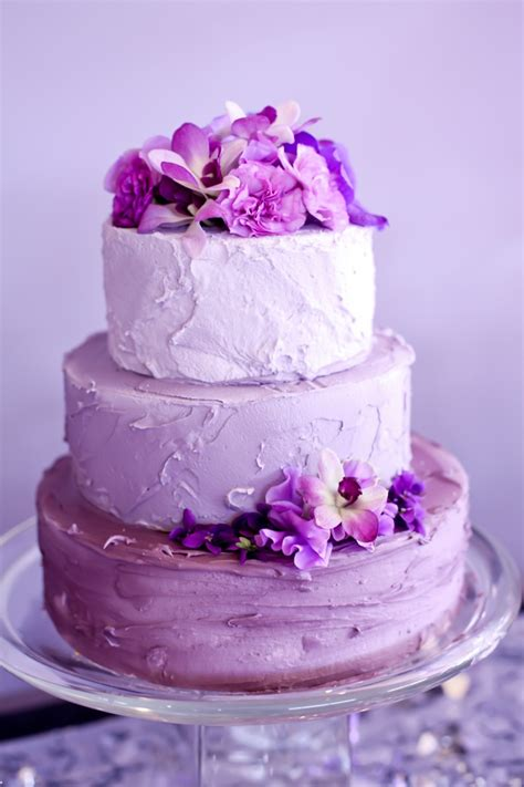 Beautiful Ombre Cake From Velvet Lilys Florist Purple