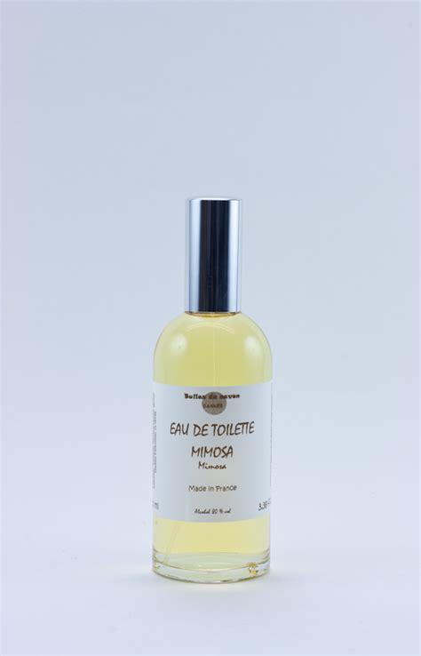 eau de toilette mimosa eau de toilette mimosa bulles de savon savonnerie artisanale cannes