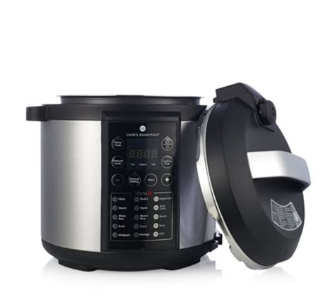 cooks essentials  pressure cooker qvc uk