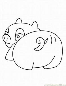 Peppa Pig Face Coloring Coloring Pages