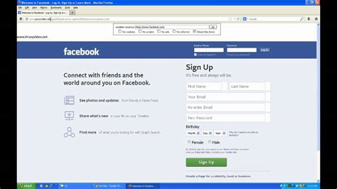 Unblock Facebook At Home/work/school/countries