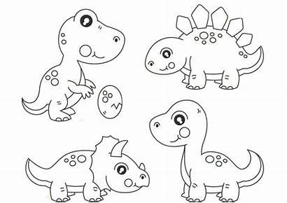 Coloring Dinosaur Dinosaurs Printable Dino Dinossauros Printcolorcraft