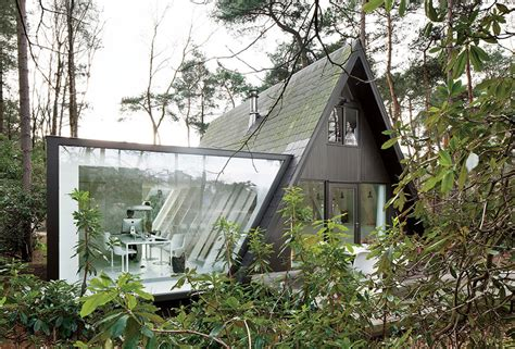 photo of modern a frame houses ideas a frame summer cabin gets glass addition modern house