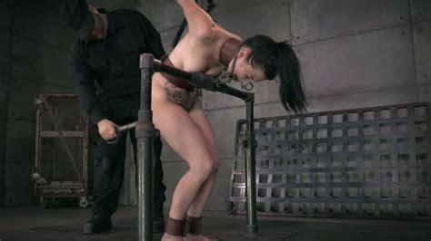 Restrained Brunette Chick Veruca James Let Her Bdsm Stud