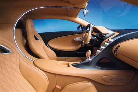 The interior boasts 'italian red' leather mixed with loads of carbon fiber elements. Take a 360-Degree Video Tour of the Bugatti Chiron's ...