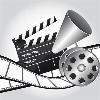 Cinema Vector Illustration Royalty Background