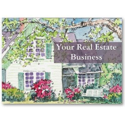 pocket calendar real estate business business card